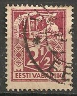 Timbres - Estonie - 1922 - 2 1/2 S. - - Estonie