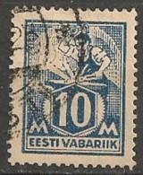 Timbres - Estonie - 1922 - 10 M. - - Estonie