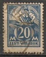Timbres - Estonie - 1922 - 20 M. - - Estonie