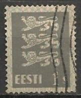 Timbres - Estonie - 1928/29 - 1 S. - - Estonie