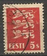 Timbres - Estonie - 1928/29 - 5 S. - - Estonie