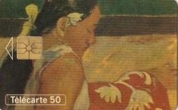AFFAIRE à Ne Pas RATER  !!!  TC Privée 50 Unités ART Peinture Musée Du LOUVRE FEMME De TAHITI  GAUGUIN  Utilisée LUXE - France