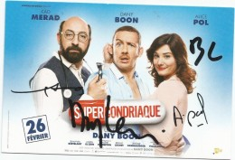 Superbe Autographe Original De ???? Dédicace 15 X 10 FRAIS DE PORT OFFERTS - Acteurs