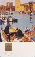 AFFAIRE à Ne Pas RATER  !!!  TC Privée 50 Unités  PORT De MARSEILLE Peintre A. ROUBAUD  Utilisée LUXE - 50 Unità