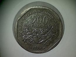 Cameroun 500 Francs 1986 - Cameroon