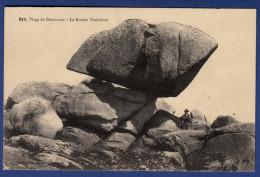 29 BRIGNOGAN-PLAGE Le Rocher Tremblant - Animée - Brignogan-Plage