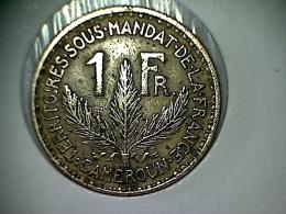 Cameroun 1 Franc 1926 - Cameroon
