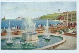 The Fountain, Loch Promenade, Douglas. - Art Colour - Isle Of Man