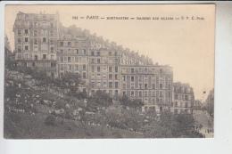 RT28.904 PARIS.MONTMARTRE.MAISONS RUE MULLER - District 18