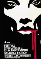 Comès. RARE Carte Postale Pour Le 4e Festival International Du Film Fantastique Et De S-F. Bruxelles. 1986 - Cartoline Postali