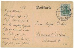AH58       1914, Köln Lindenthal , Postkarte - Briefe U. Dokumente