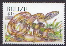 Belize MNH Snake Stamp With Year 2003 - Snakes