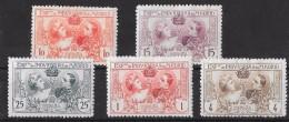 T 00435 - Espagne 1907, Neufs Charnières N° 236,237,238,240 Et 241  Côte 46.50 €