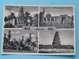BAGHDAD Sit ZUBAIDAH, ADHAMIAH Mosque, Tombs Of SHIAA Muslims, MULWIYA..... () Anno 19?? ( Zie Foto Voor Details ) !! - Iraq