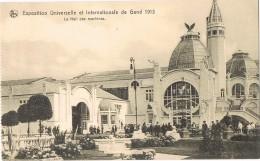 17830. Postal GAND (Flandre Orientale), Exposition Universelle 1913. Les Hall Des Machines - Gent