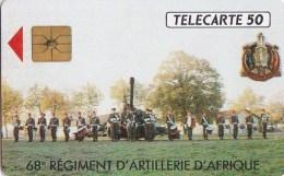 AFFAIRE à Ne Pas RATER  !!!  TC Privée 50 Unités Militaria ARMEE 68° Régiment ARTILLERIE AFRIQUE Utilisée LUXE - Francia