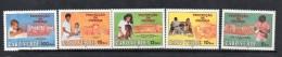 1987 Cape Verde Child Survival Medical Health Doctor Complete Set Of 5 MNH - Isola Di Capo Verde