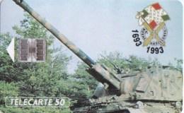 AFFAIRE à Ne Pas RATER  !!!  TC Privée 50 Unités Militaria ARMEE De TERRE 1er Régiment D' ARTILLERIE Utilisée LUXE - France