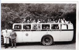 Pyrénées.  Bus De Touristes , Années 1930                   (carte-photo) - Bus & Autocars