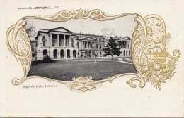 Litho Goldprägung TORONTO (Canada) - Osgoode Hall - Karte 1905 - Toronto