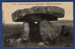 29 PLOMODIERN Dolmen De Saint Nic Sur Le Menez-Hom - Animée - Plomodiern