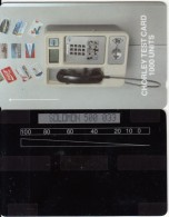 SOLOMON ISL.(GPT) - GPT Cardphone, Chorley Test Card 1000 Units, CN : SOLOMON 500 + 3 Digits, Tirage 100, Mint - Isole Salomon