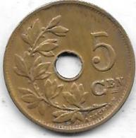 5 Centimes 1924 FL - 1909-1934: Albert I