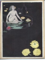 Calendrier Publicitaire Et Meilleurs Voeux/ Maison RIEGEL/Imprimeur-Editeur/NEUILLY /1924   CAL325 - Calendriers