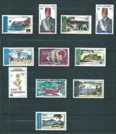 PA  Des  Comores De 1975  N°68 A 78  Neuf ** Sans Charnières - Posta Aerea