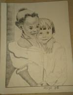 Dessin Au Crayon-Illustrateur-Jeunes Enfants (4) - Drawings