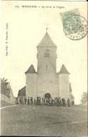 Migennes La Sortie De L Eglise - Migennes