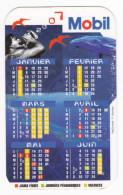 Polynésie Française / Tahiti - Calendrier Publicitaire Mobil 2007 - Calendarios