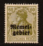 MEMEL FRANCÉS - CLÁSICO. Yvert Nº 10 Nuevo - Memel (1920-1924)