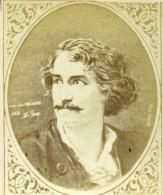 France Acteur Et Peintre Melingue Ancienne CDV Photo Figaro Album 1875 - Photographs