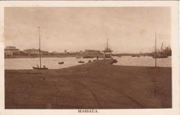 """1937-Eritrea Cartolina Viaggiata Diretta In Italia """"""""Massaua Il Porto"""""""" - Eritrea"""