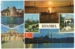 TURCHIA - Turkey - TURKIYE - Istanbul - Multiviews - Not Used - Turchia