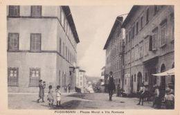 Siena Poggibonsi Piazza Marzi E Via Romana - Siena
