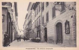 Siena Poggibonsi Via Vittorio Emanuele - Siena