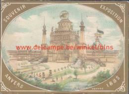 1885 Souvenir Exposition Anvers - Antwerpen