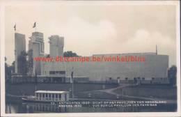 Paviljoen Van Nederland. Expo 1930 - Antwerpen