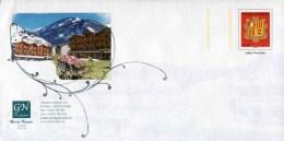 """PAP Sur Papier Ordinaire Avec  Timbre """"Armoiries - Lettre Prioritaire"""" Et Illust. """"Hotel Nordic  à Canillo"""" - Entiers Postaux & Prêts-à-poster"""