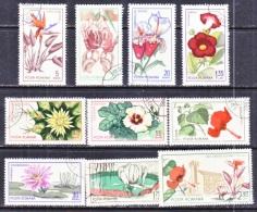 ROMANIA  1779-88   (o)   FLOWERS - Pflanzen Und Botanik
