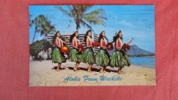 Hula Girls  Aloha From Waikiki Ref  2196 - Stati Uniti