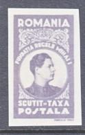ROMANIA  XII B    ** - Vrijstelling Van Portkosten