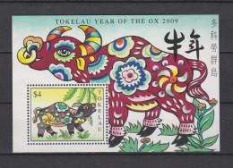 Tokelau Block Mi 41 Year Of The Ox 2009 * * - Tokelau