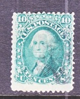 US  68  (o)  1861  Issue - 1847-99 General Issues