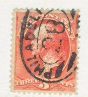 US  214    (o)  1887  Issue - 1847-99 General Issues