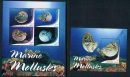 Palau 2015 Marine Animals Nautilus MS + M Full - Palau