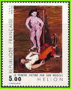 France 1984 2343 ** Peintures Jean Hélion Le Peintre Piétiné Par Son Modèle Nu - Frankrijk