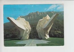 Tjentiste, Sutjeska Used Postcard (cb411) - Bosnia And Herzegovina